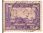 Sellos de Europa - Malta -  Poste italiane / Malta / Colonia italiana