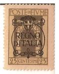 Stamps Europe - Italy -  Poste di fiume / colonia italiana / Regno di italia