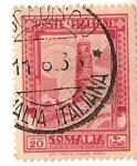 Sellos del Mundo : Africa : Somalia : Poste italiane / somalia / Colonia italiana