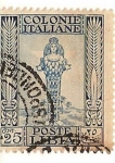 Stamps Africa - Libya -  Colonie italiane / poste Libia / 25 cent
