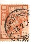Stamps Africa - Libya -  Poste italiane / Libia / 1.75 lire / colonia italiana