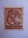 Stamps Australia -  Tiger Cat. (S/321)