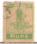 Stamps Europe - Italy -  Fiume / Colonias italianas / 20 cent