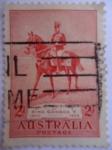 Sellos de Oceania - Australia -   Aniversario del King George V. (S/152)