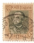 Stamps of the world : Eritrea :  Poste italiane / Eritrea / Colonia italiana