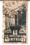 Stamps Africa - Eritrea -  colonie italiane / eritrea / 1 lira