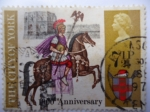 Stamps United Kingdom -  1900Th Anniversary of the founding of the City of York.