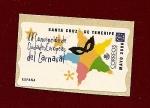 Sellos de Europa - España -  ATM - XX convención del Carnaval Europeo -  Santa Cruz de Tenerife