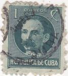 Sellos de America - Cuba -  general Martí - militar