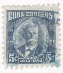 Sellos de America - Cuba -  Calixto García 1832-1898 general cubano