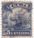 Stamps Cuba -  velero