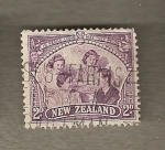 Stamps Oceania - New Zealand -  Familia real