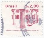 Stamps Brazil -  claustro-convento de sao Francisco