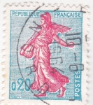 Stamps : Europe : France :  sembradora