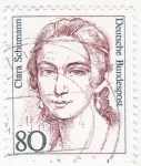 Stamps Germany -  Clara Schumann -pianista compositora