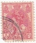Stamps Netherlands -  Guillermina I