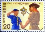 Sellos de Asia - Japón -  Intercambio cr1f 0,20 usd 20 yen 1972