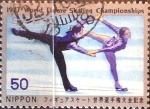 Stamps Japan -  Intercambio 0,20  usd 50 yen 1977