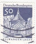 Stamps Germany -  Ellwangen/Jagst