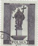 Stamps Poland -  figura caballero medieval