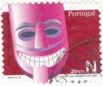 Sellos de Europa - Portugal -  máscara
