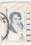Stamps Argentina -  Manuel Belgramo- militar