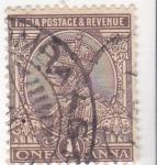 Stamps India -  rey George V