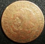 monedas de America - México -  1960 (Reverso)