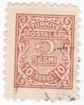Stamps Turkey -  alegorías