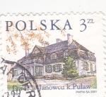 Stamps Poland -  casa típica