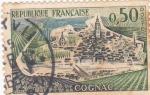 Stamps France -  vistas de Cognac