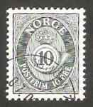 Sellos de Europa - Noruega -  Corneta Postal
