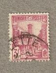 Stamps Africa - Tunisia -  Mezquita