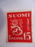 Sellos de Europa - Finlandia -  Escudo de Armas.