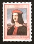 Stamps Cuba -  500 Aniversario del nacimiento de Rafael