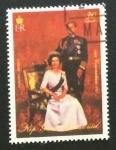 Stamps Equatorial Guinea -  25 Aniversario de la Coronación de Isabel II