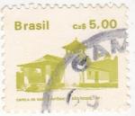 Stamps Brazil -  capela de Santo Antonio, Sao Roque