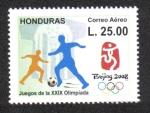 Sellos de America - Honduras -  Beijin 2008