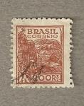 Stamps America - Brazil -  Espigas
