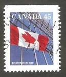Stamps Canada -  1416 a - Bandera