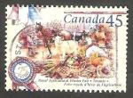 Sellos de America - Canadá -   1543 - Feria de invierno de agricultura, en Toronto