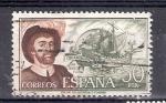 Sellos de Europa - España -  Juan Sebastián Elcano