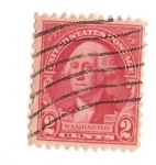 Stamps United States -  United states of america / Washington (1932)
