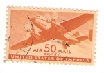 Stamps United States -  united states of america / air 50 cents mail