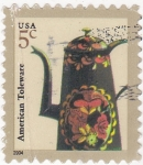 Stamps United States -  tetera