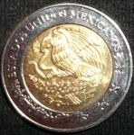 monedas de America - México -  2008 (Reverso)