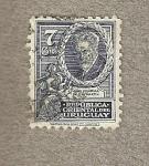 Stamps Uruguay -  Juan Zorrilla