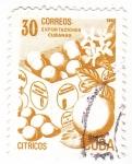 Stamps Cuba -  exportaciones cubanas-citricos