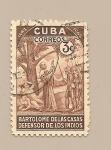 Sellos del Mundo : America : Cuba : Bartolomé de las Casas - Defensor de los Indios