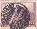 Sellos de America - Chile -  1 centenario de la muerte de San Martín